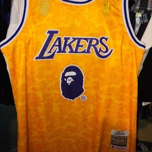 LA Lakers BAPE